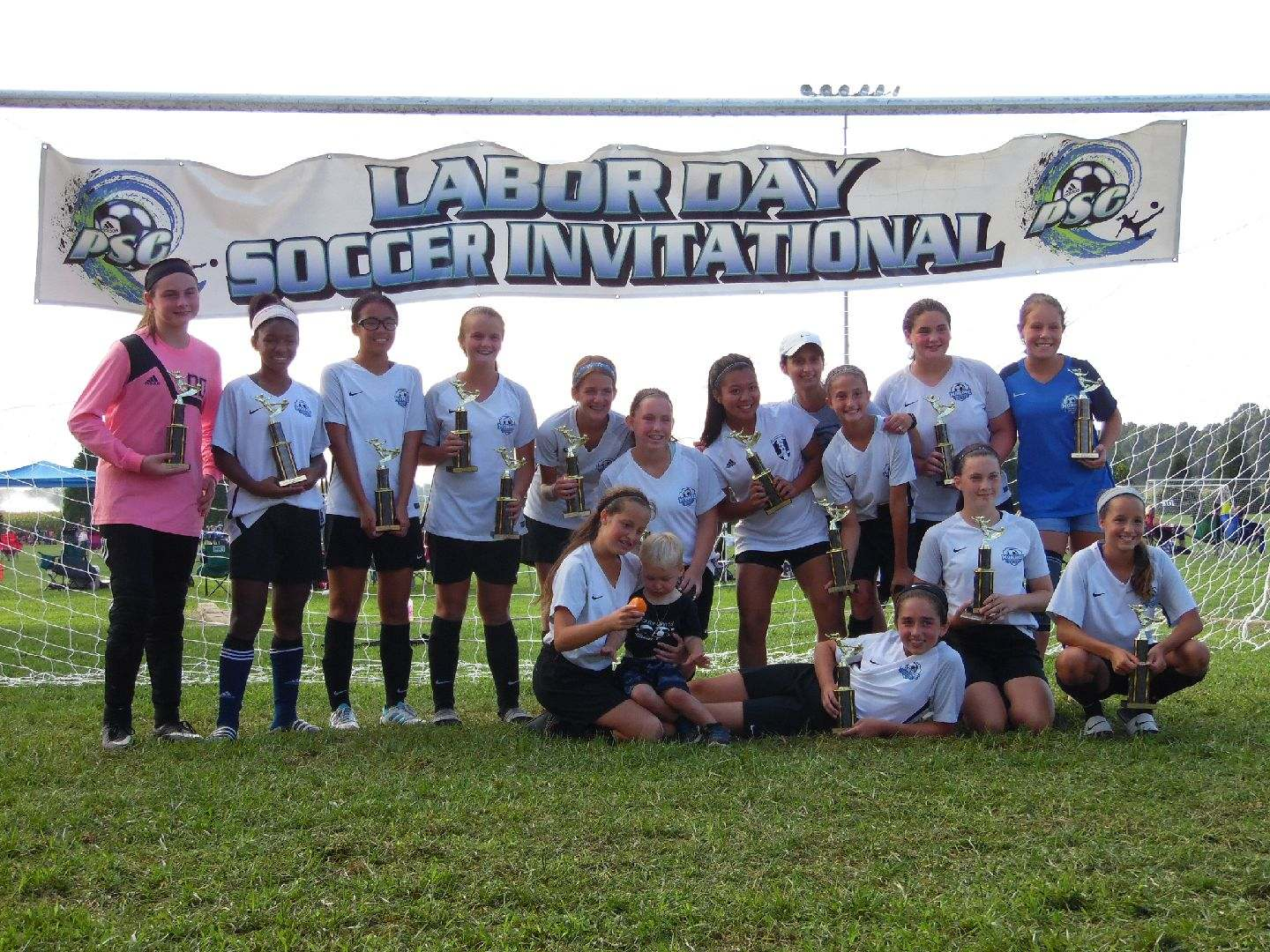 Congratulations to U14 Girls Monroe United 2005 Champions
